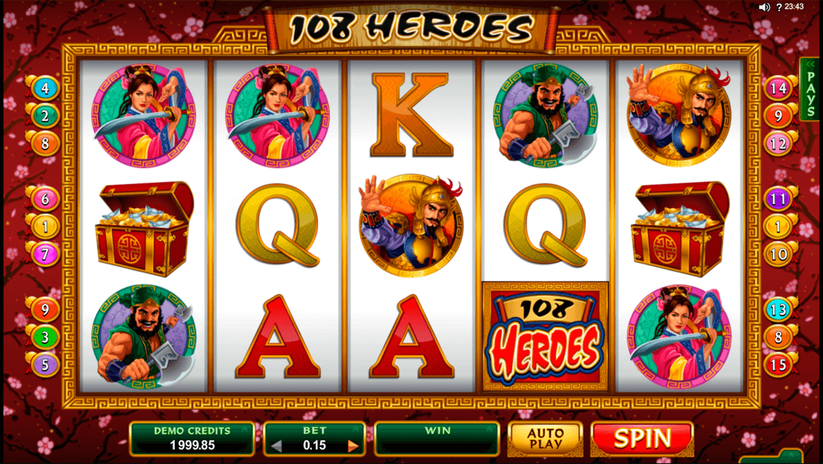 108 heroes microgaming casinospil online