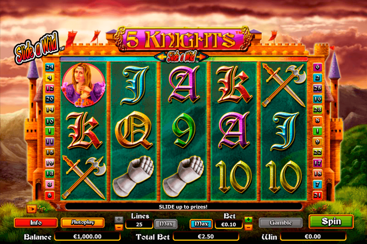 5 knights nextgen gaming casinospil online