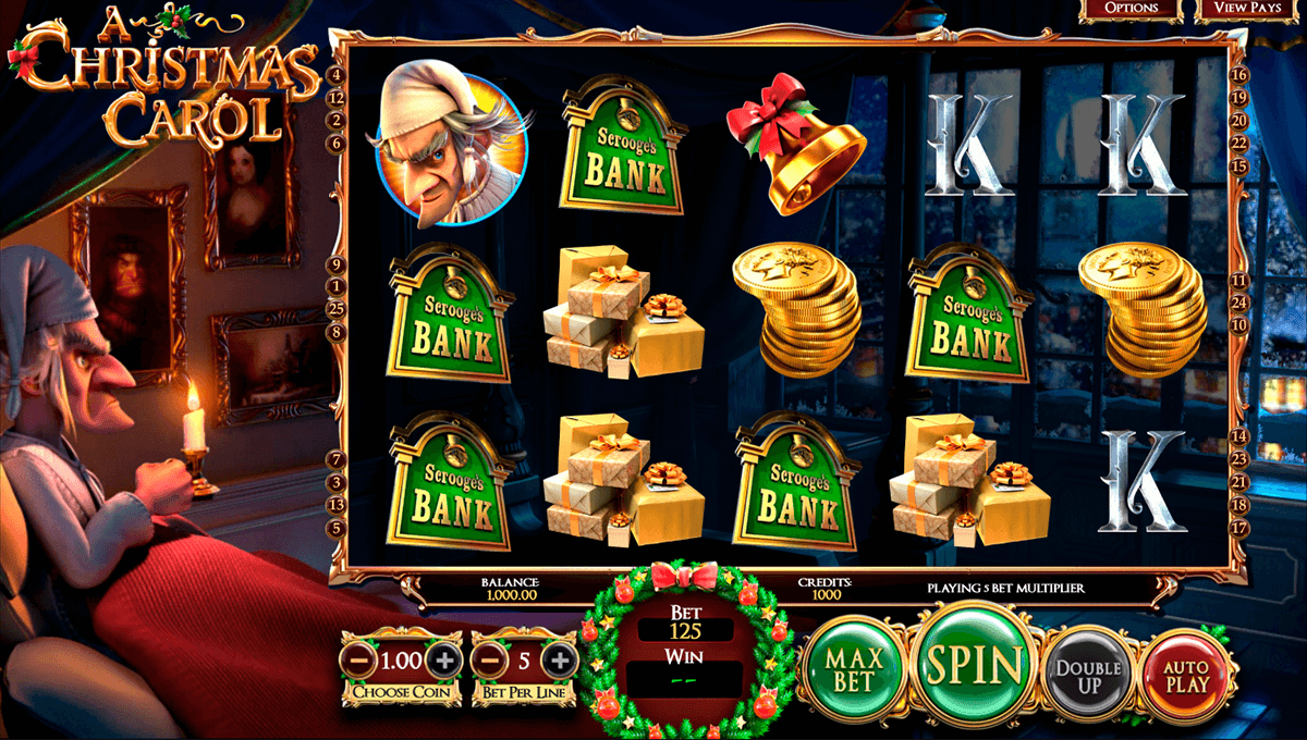 a christmas carol betsoft casinospil online