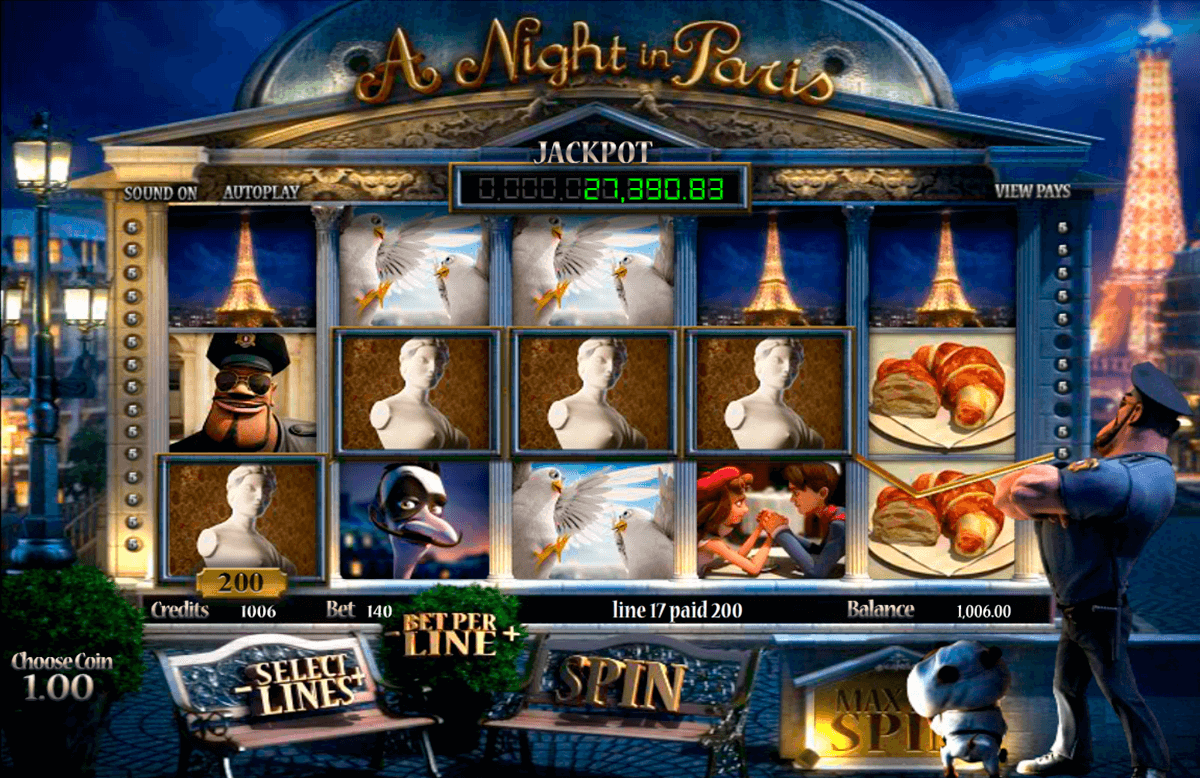 a night in paris betsoft casinospil online