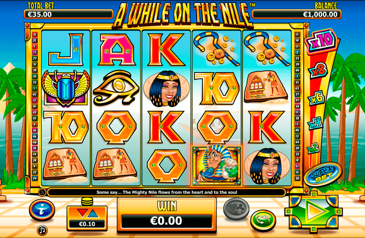a while on the nile nextgen gaming casinospil online