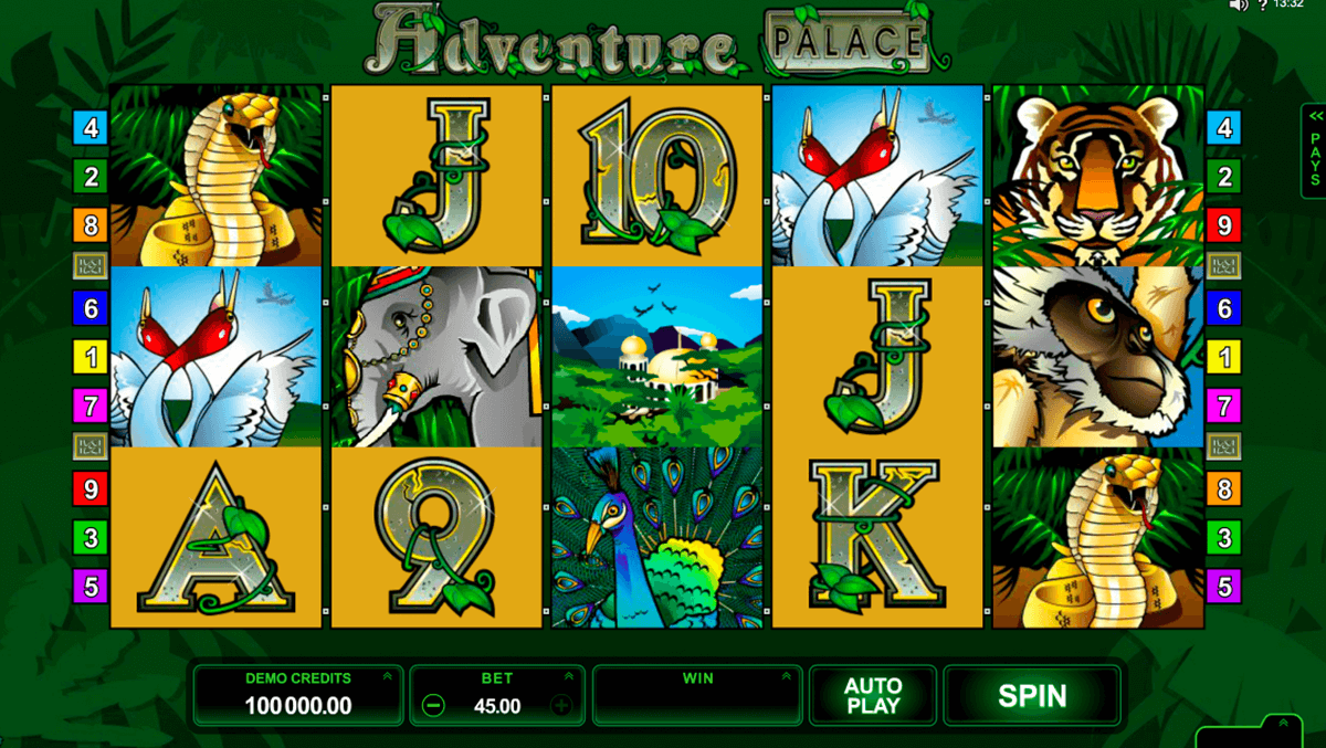 adventure palace microgaming casinospil online