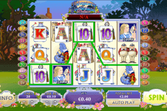 adventures in wonderland playtech casinospil online