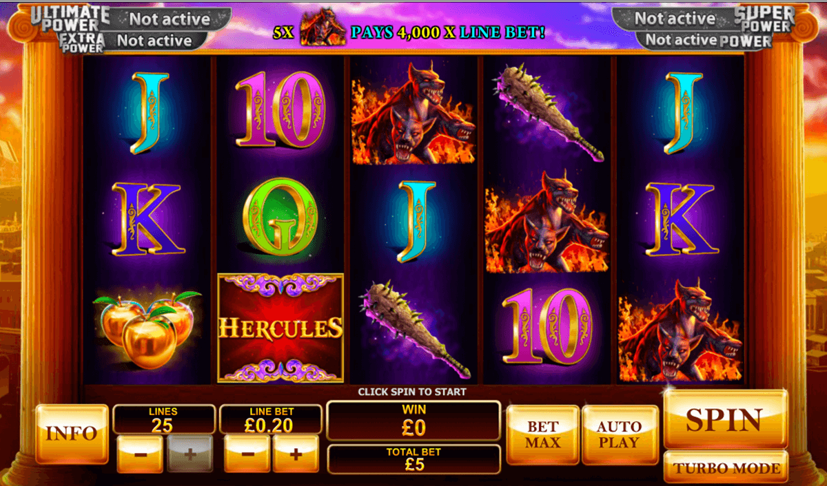 age of the gods prince of olympus playtech casinospil online