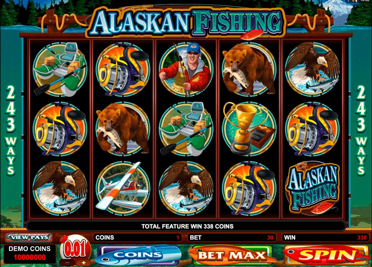alaskan fishing microgaming casinospil online