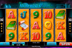 alchemists spell playtech casinospil online
