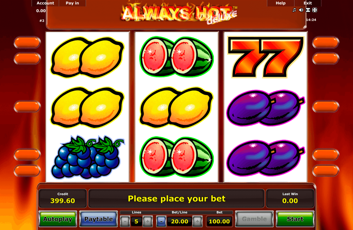 always hot novomatic casinospil online