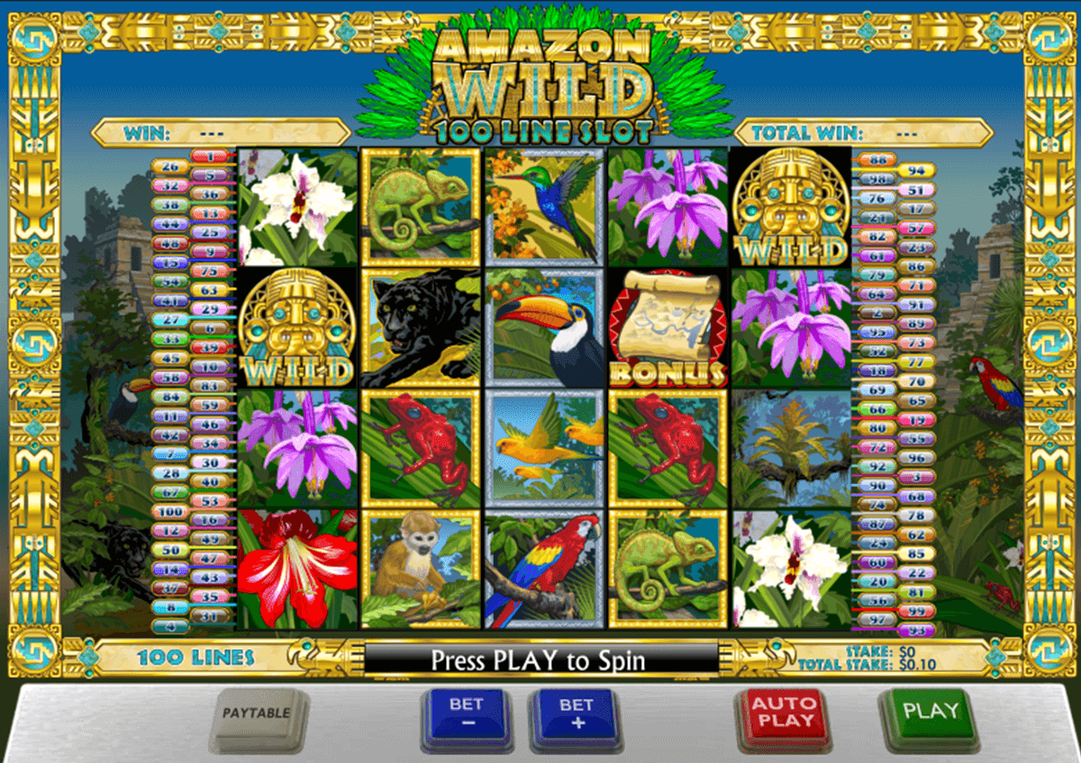 amazon wild playtech casinospil online