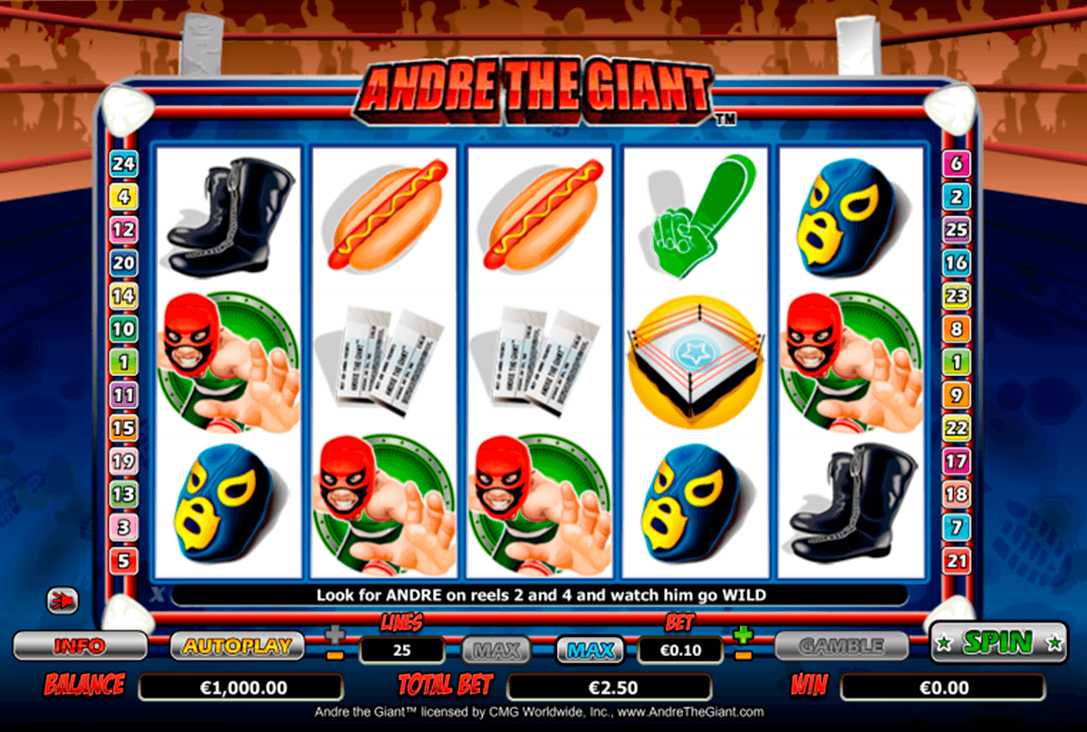 andre the giant nextgen gaming casinospil online