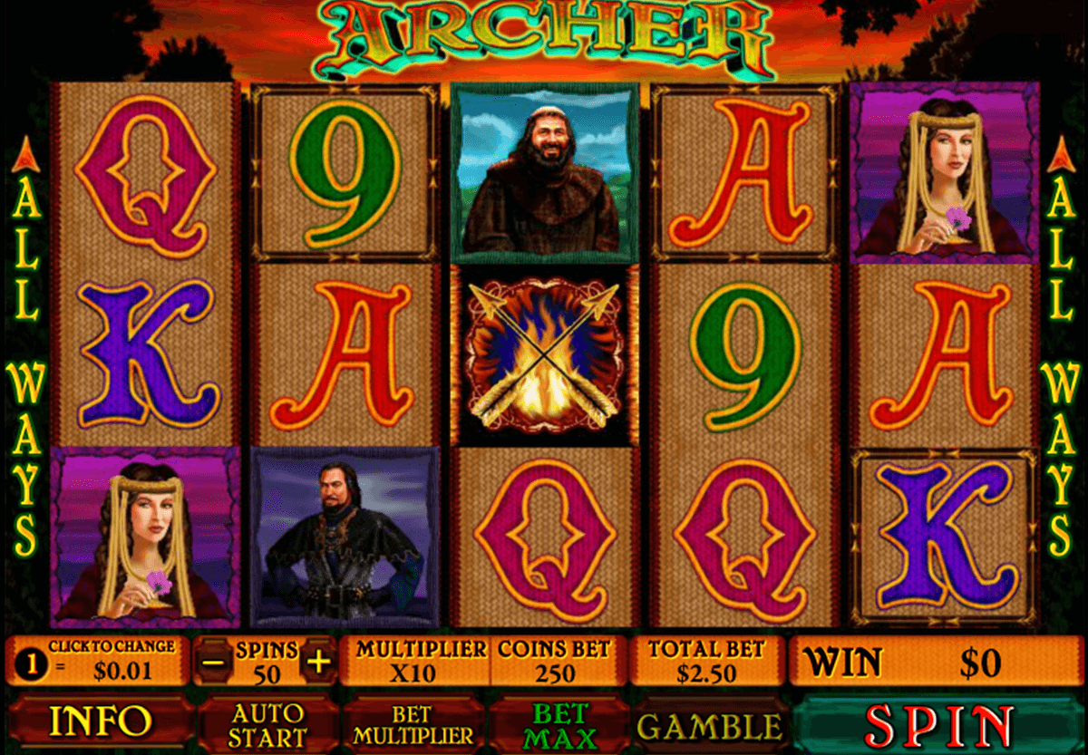 archer playtech casinospil online