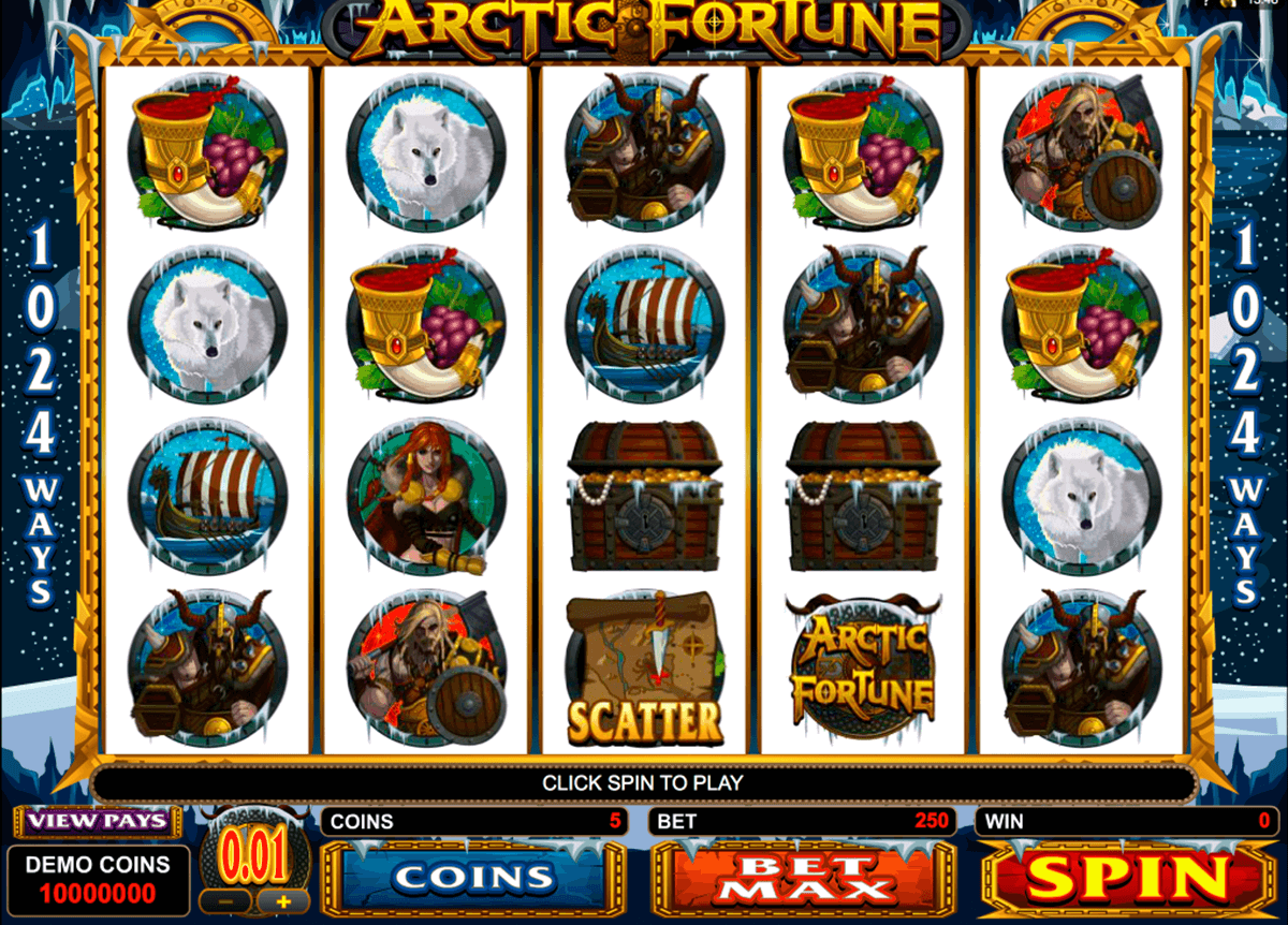 arctic fortune microgaming casinospil online