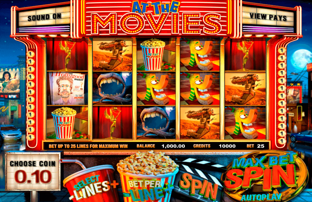 at the movies betsoft casinospil online