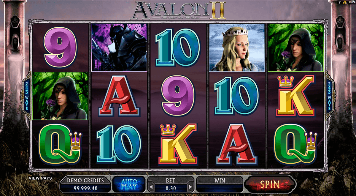 avalon ii microgaming casinospil online