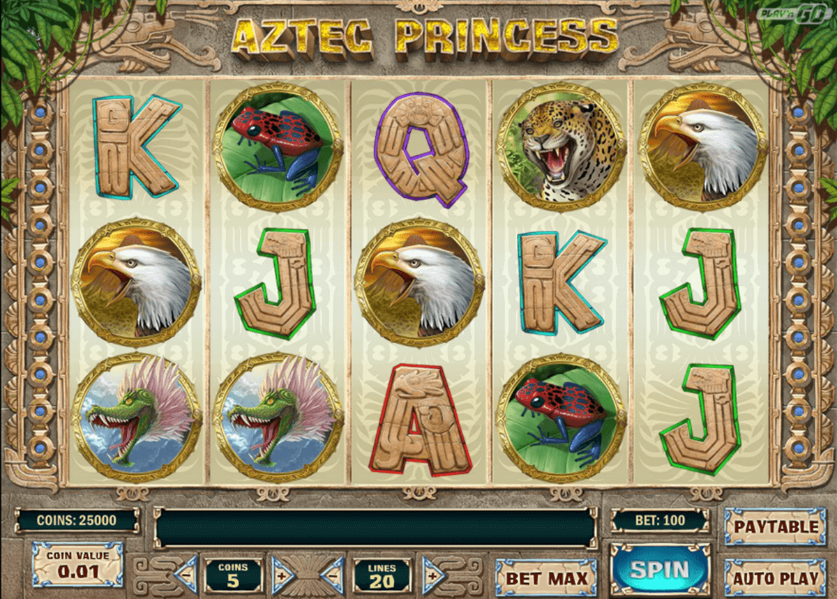 aztec princess playn go casinospil online