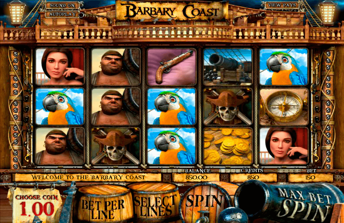 barbary coast betsoft casinospil online