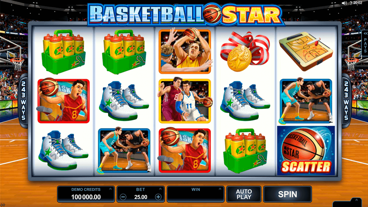 basketball star microgaming casinospil online
