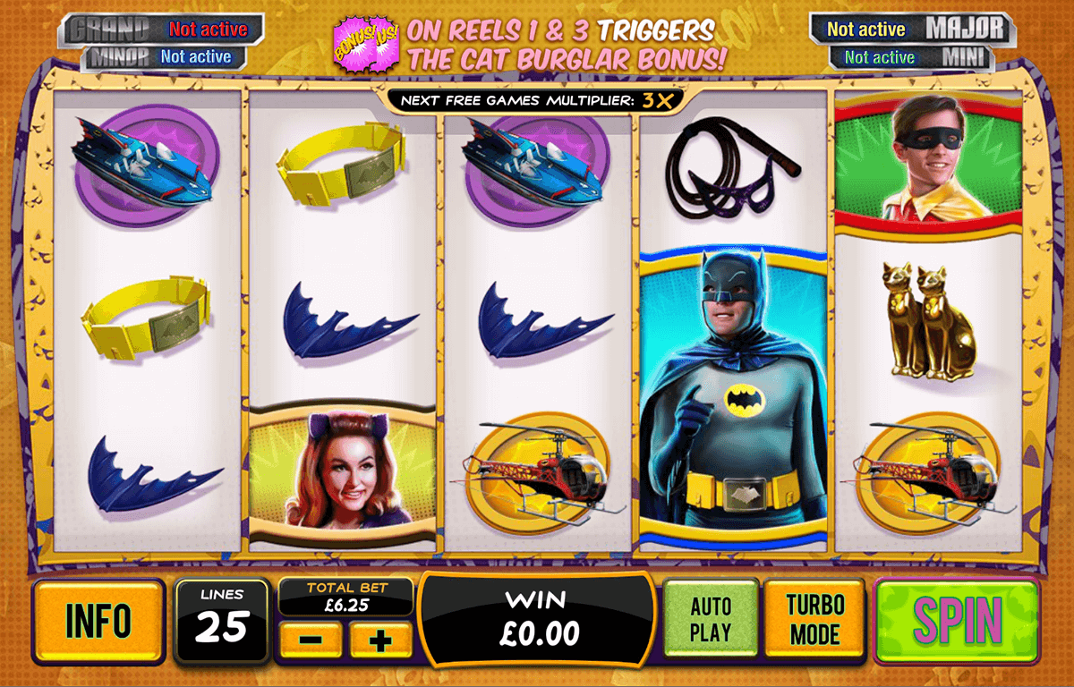 batman catwoman cash playtech casinospil online