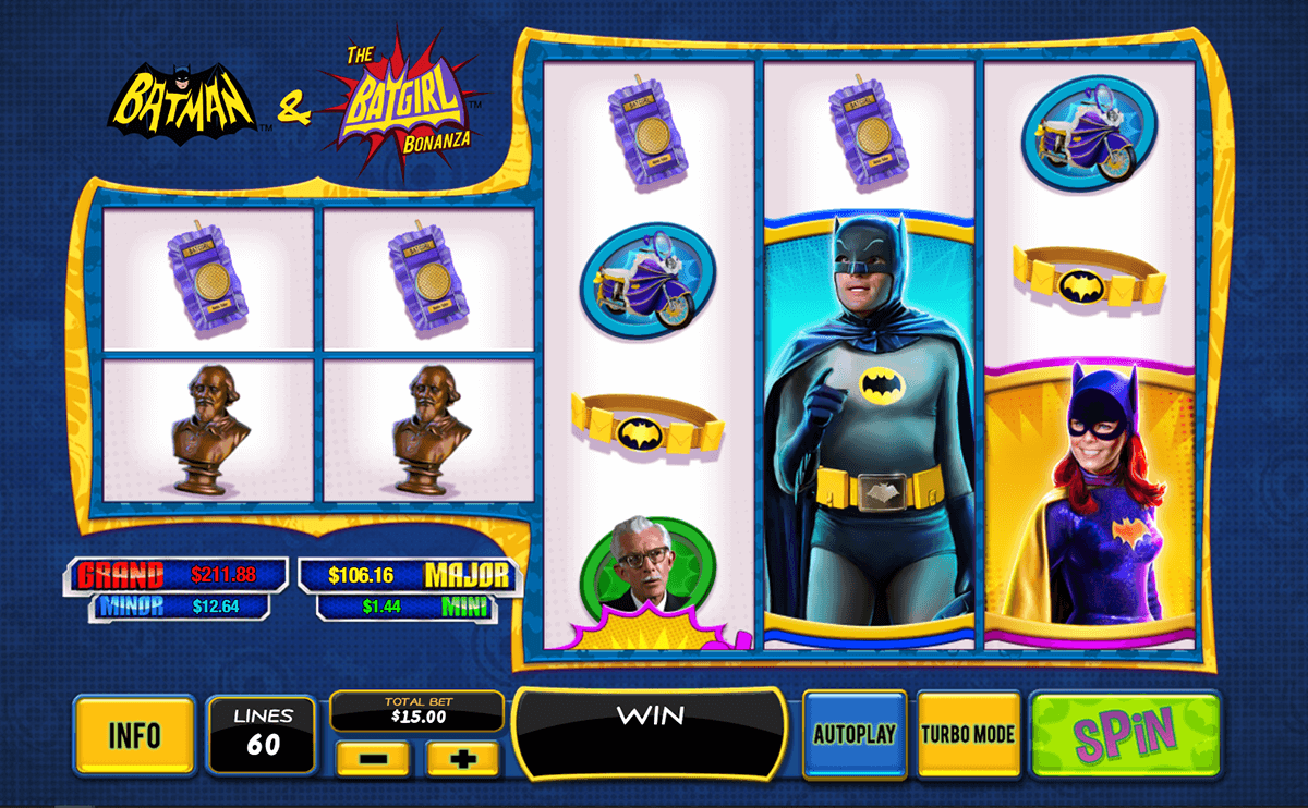batman the batgirl bonanza playtech casinospil online