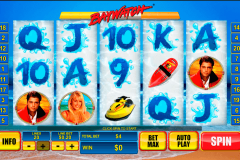 baywatch playtech casinospil online