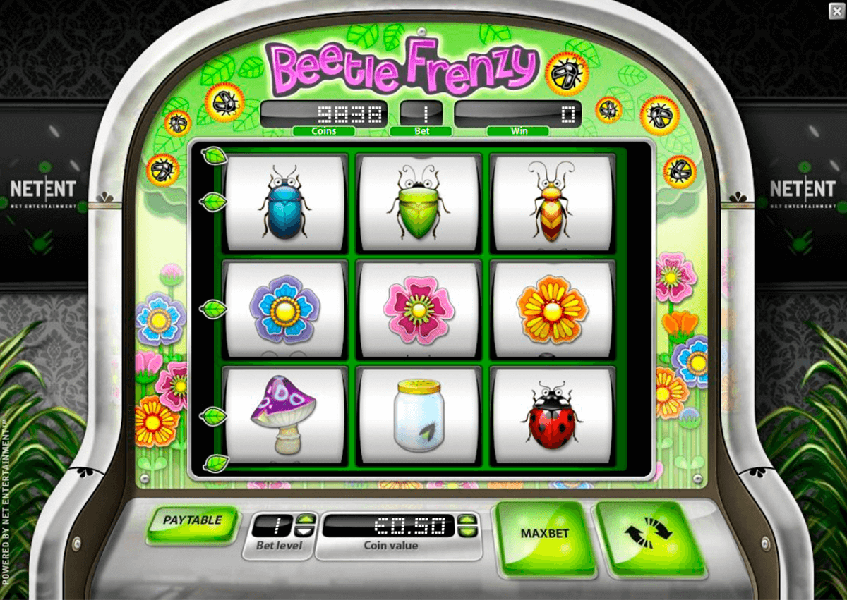 beetle frenzy netent casinospil online