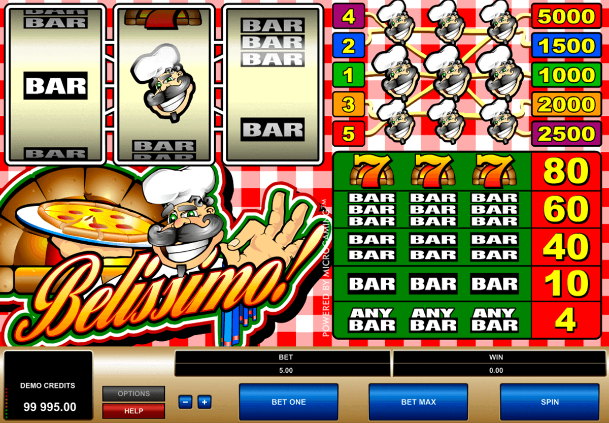 belissimo microgaming casinospil online