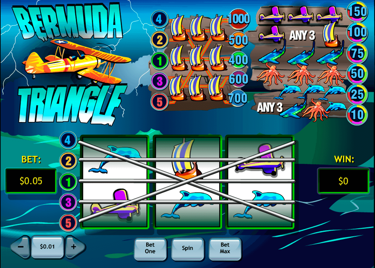 bermuda triangle playtech casinospil online