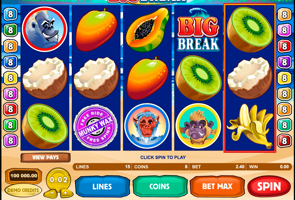 big break microgaming casinospil online