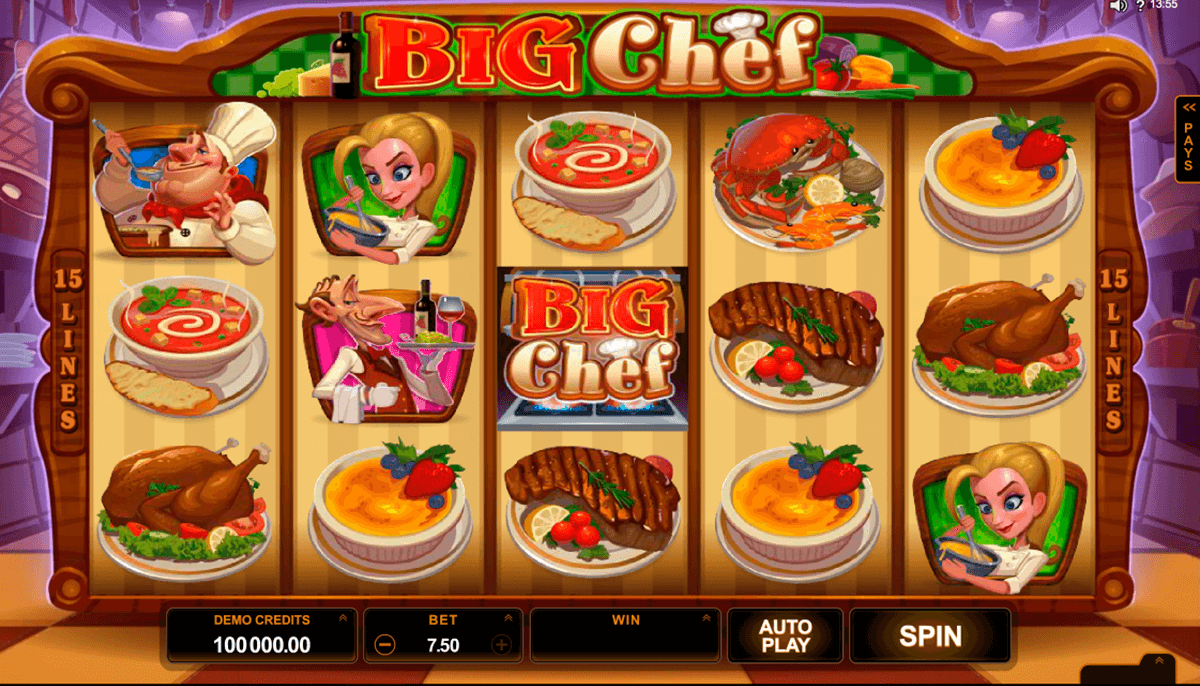 big chef microgaming casinospil online