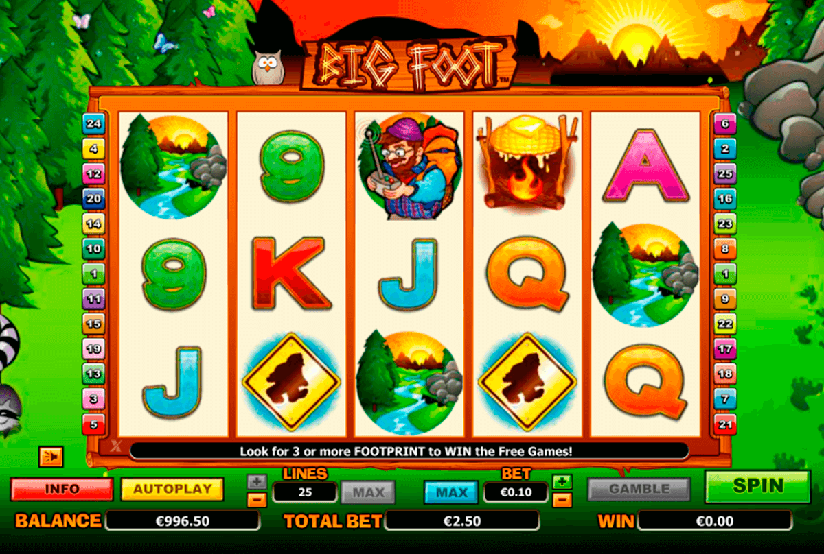 big foot nextgen gaming casinospil online