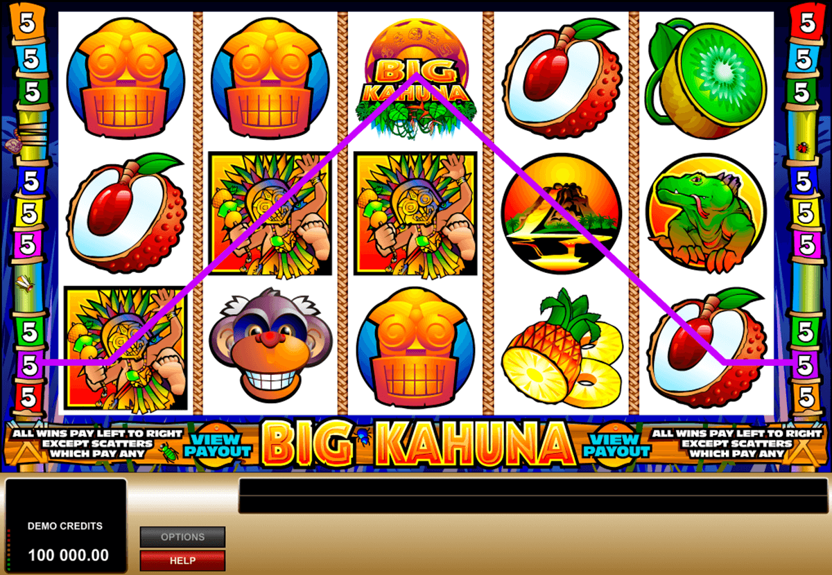 big kahuna microgaming casinospil online