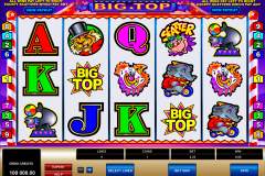 big top microgaming casinospil online