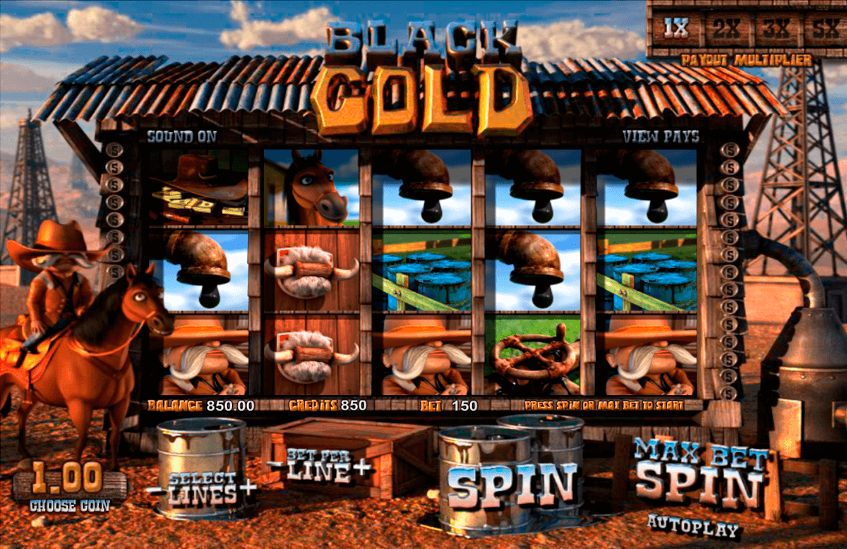 black gold betsoft casinospil online