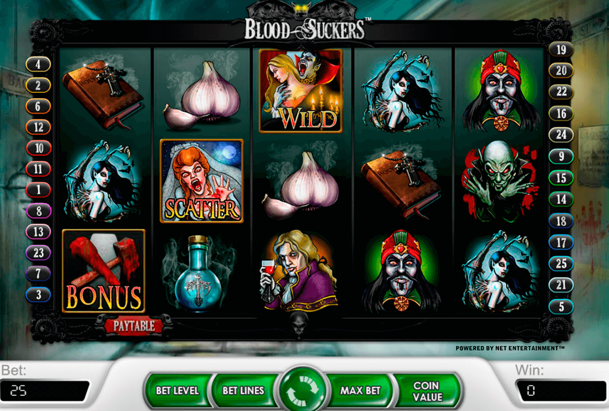 blood suckers netent casinospil online