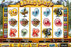 bonus bears playtech casinospil online