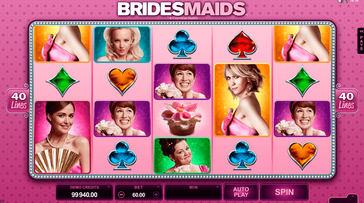 bridesmaids microgaming casinospil online