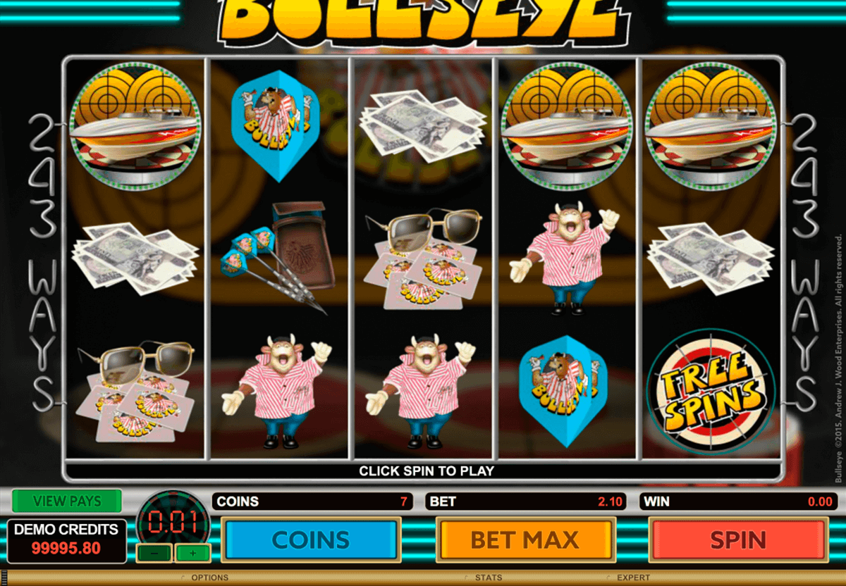 bullseye microgaming casinospil online