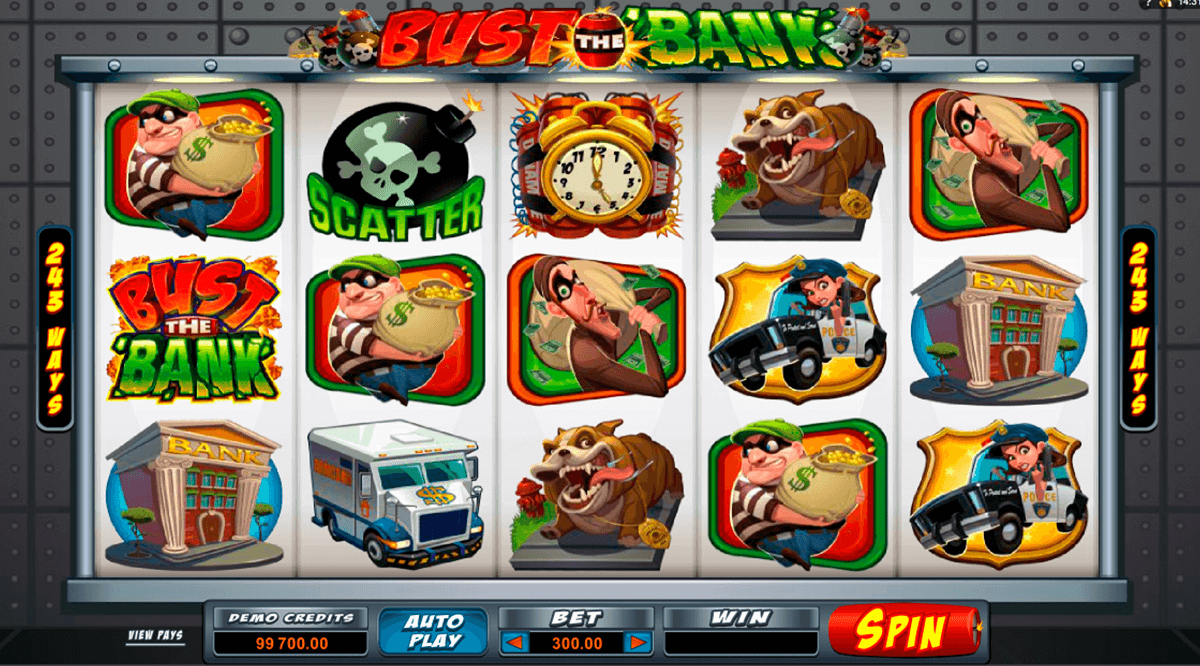 bust the bank microgaming casinospil online