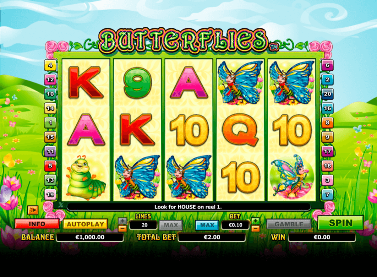 butterflies nextgen gaming casinospil online