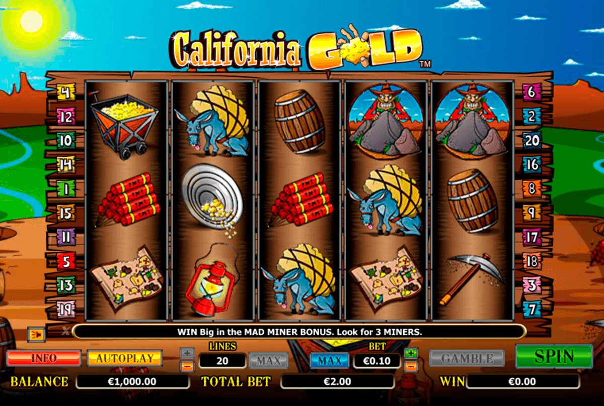california gold nextgen gaming casinospil online