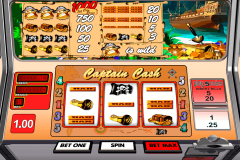 captain cash betsoft casinospil online