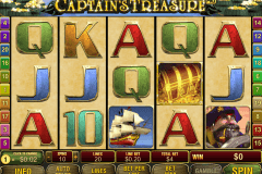 captains treasure pro playtech casinospil online
