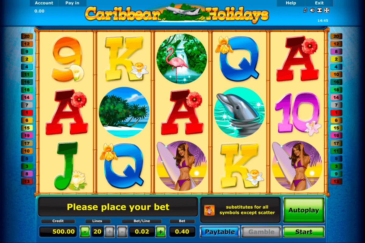 caribbean holidays novomatic casinospil online