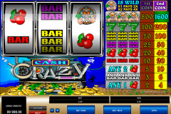 cash crazy microgaming casinospil online