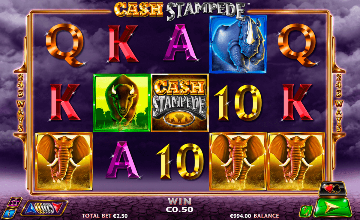 cash stampede nextgen gaming casinospil online