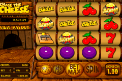 chase the cheese betsoft casinospil online