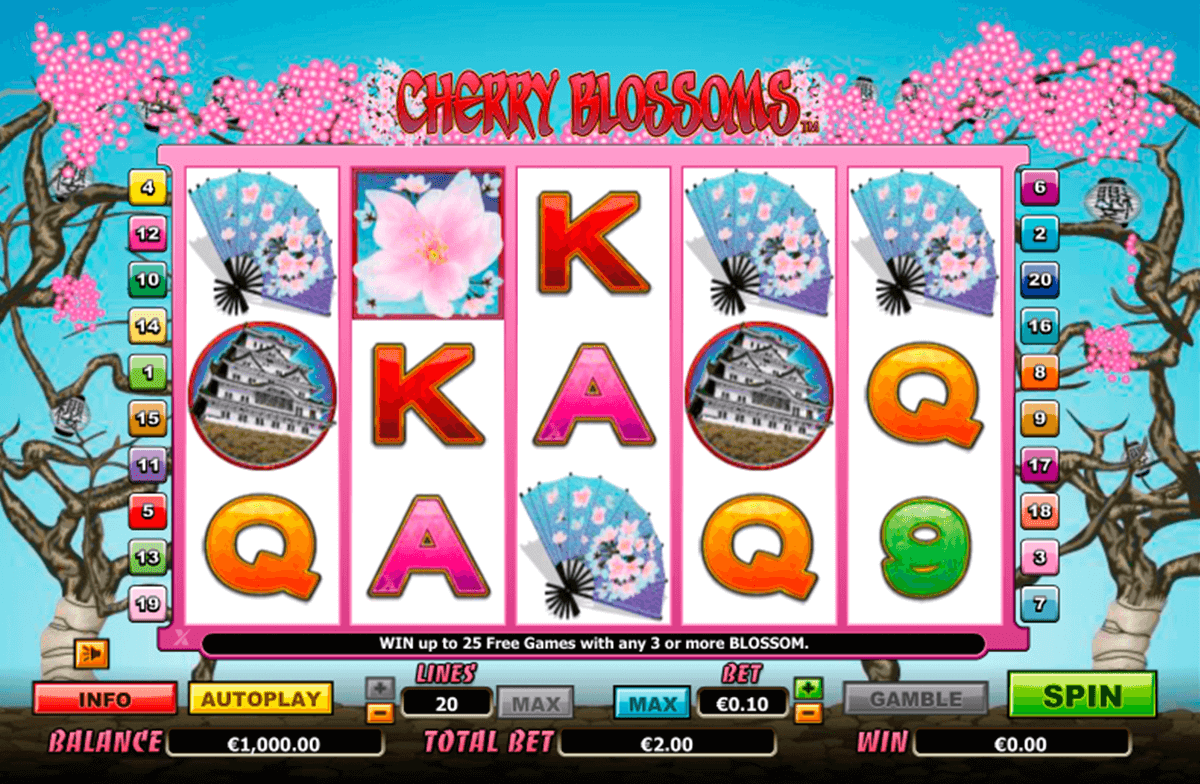 cherry blossoms nextgen gaming casinospil online