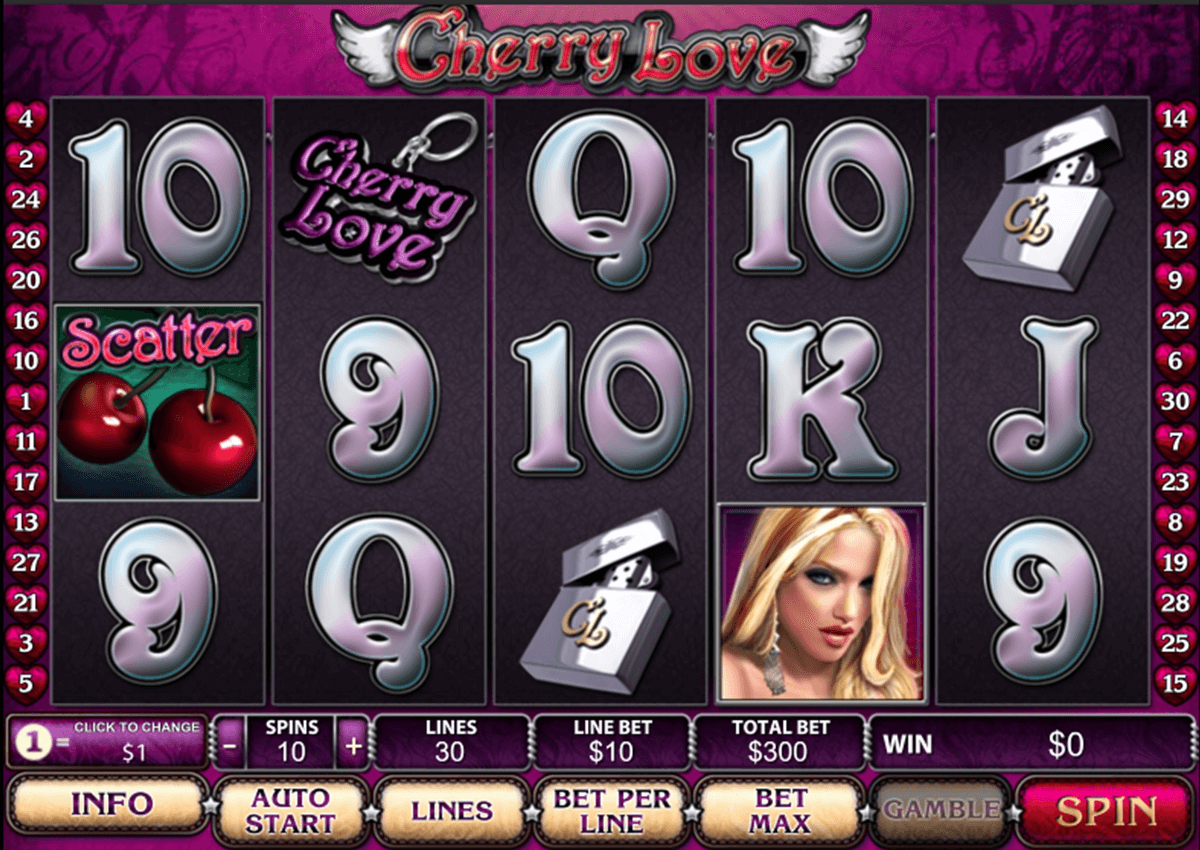 cherry love playtech casinospil online
