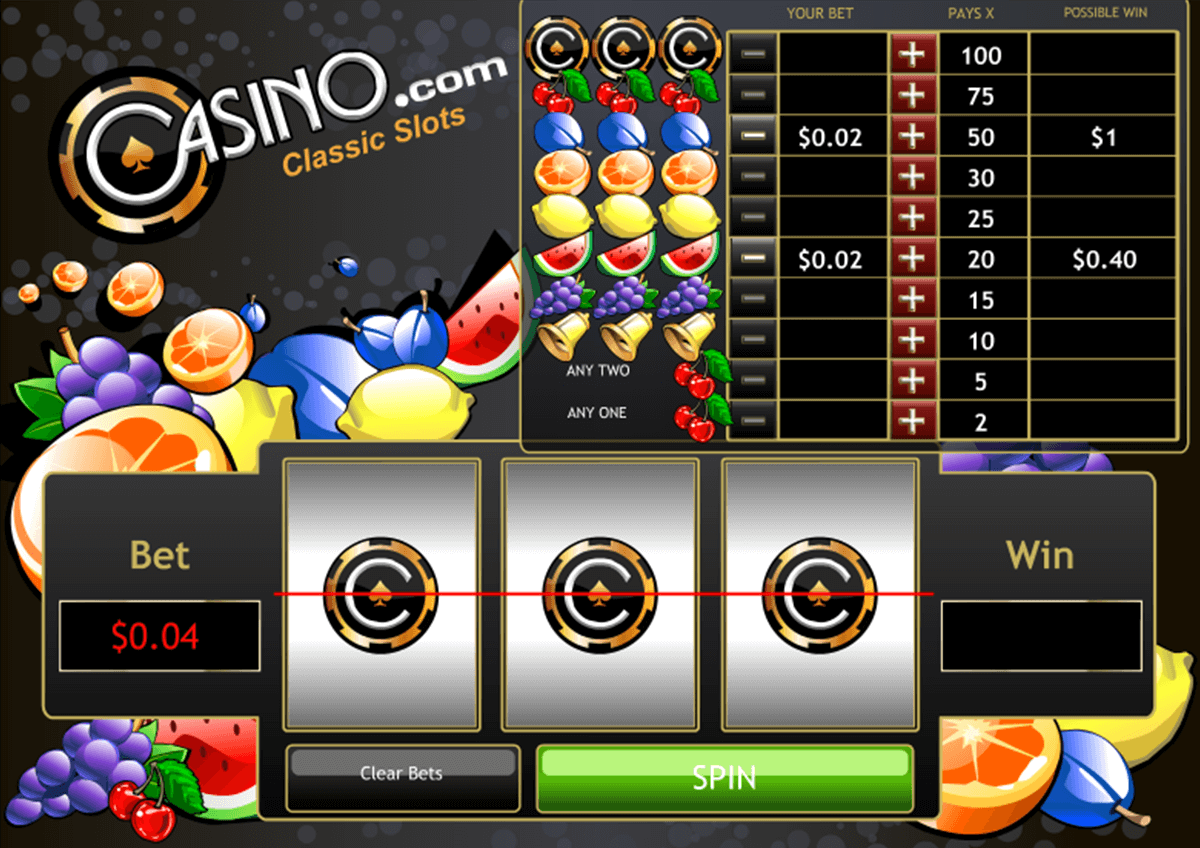 classic slots reels playtech casinospil online