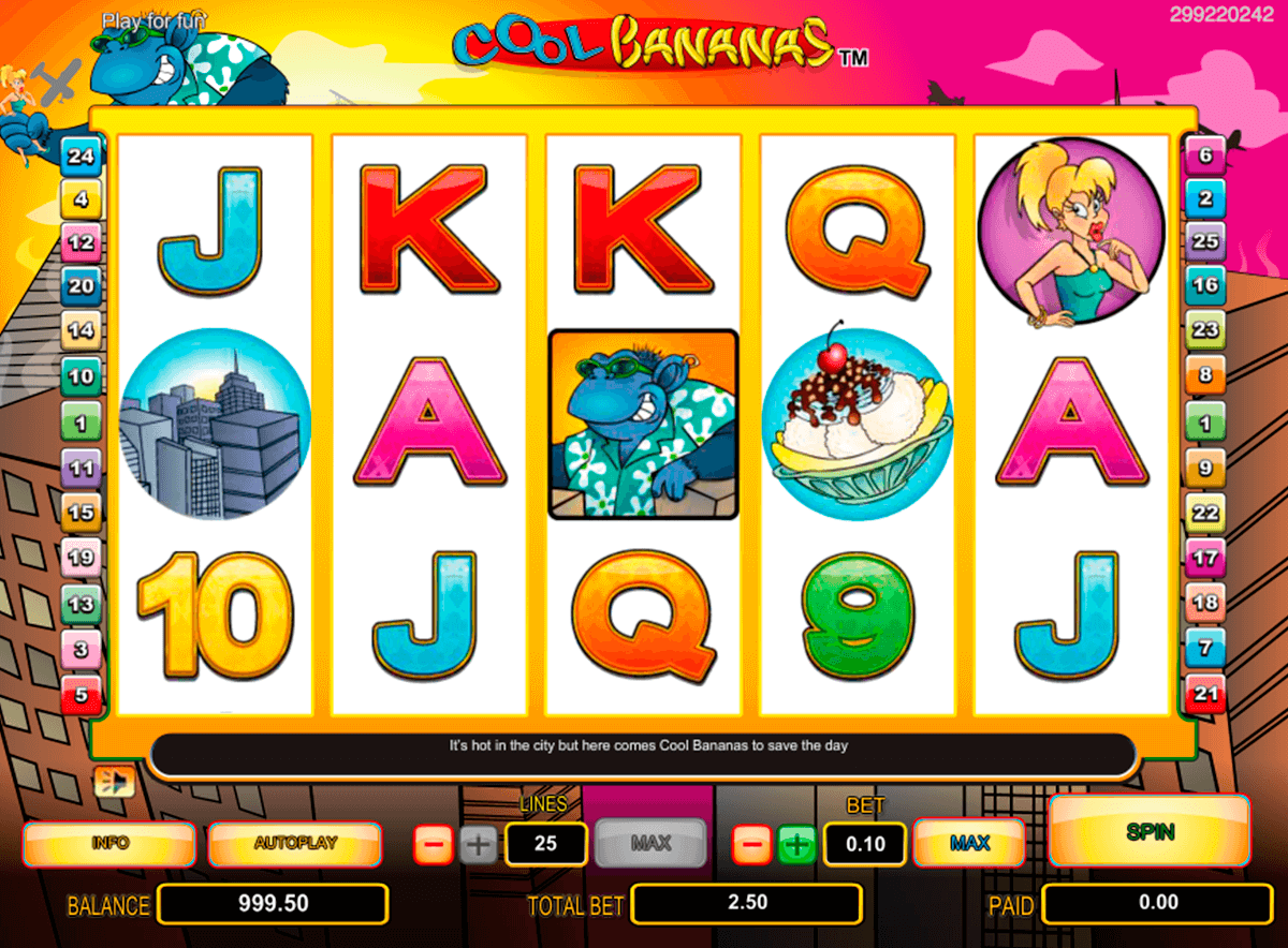cool bananas nextgen gaming casinospil online