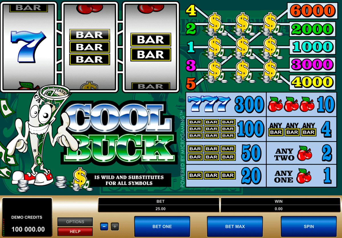 cool buck microgaming casinospil online